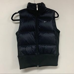 Nike Down Fill Wind Runner Black/White Vest